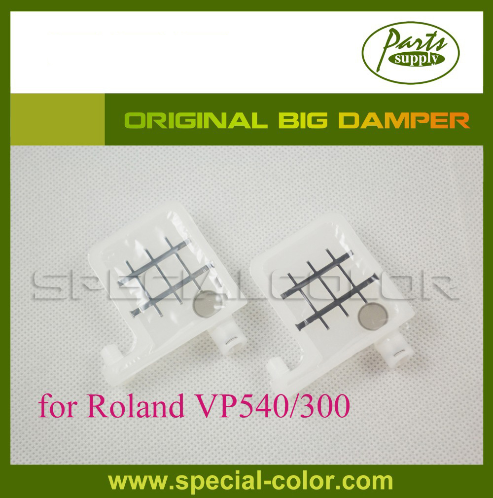 Roland VP540/300 Inkjet Large Damper Big Damper Japan for Roland DX4 Eco Solvent Damper ink pump for roland sj640 ra640 re640 re540 fh740 vs300 vs540 vs640 vp300 vp540 xf640 rf640 rfa640 roland ink pump u type