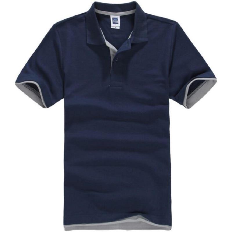 Brands Camisa Masculina Polo Shirt Men Cotton Short Sleeve Men Polo Shirt Sportsjerseysgolftennis Plus Size Male Blusas Tops