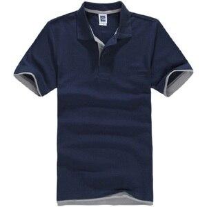 الماركات Camisa بولو الغمد قميص رجالي القطن قصيرة الأكمام الرجال بولو قميص Sportsjerseysgolftennis زائد حجم الذكور Blusas قمم