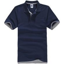 ブランドカミーサmasculinaポロシャツの男性の綿半袖メンズポロシャツsportsjerseysgolftennisプラスサイズ男性blusasトップス