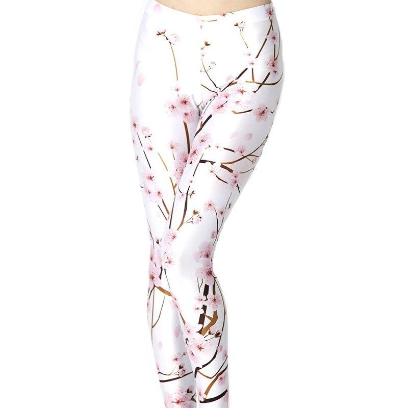 Peach Blossom Women Legging Womens Leggings Jeggings Women Pants Legings Sexy Legging Legins Sexy Woman Printed Leggings 26