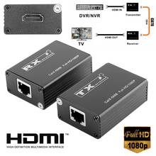 1Pair 30m Wireless HDMI Transmitter Receiver Pro HDMI Extender Splitter Support 1080P 165MHz 165Gbps Single Channel