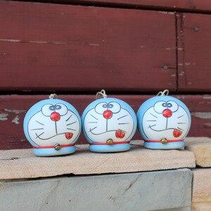 2Pcs/lot Cute Ceramic Wind Chi