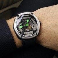 Риф Тигр/RT мужские роскошные часы погружения супер световой нейлоновый ремешок Автоматическая Военная часы дизайнер спортивные часы RGA90S7
