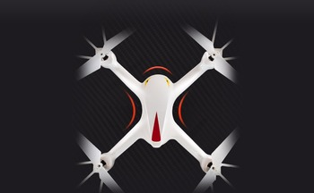 MJX X708 2.4G 6 Axis Gyro 3D Flip Headless One Key Return RC Quadcopter ABS Drone With High Speed