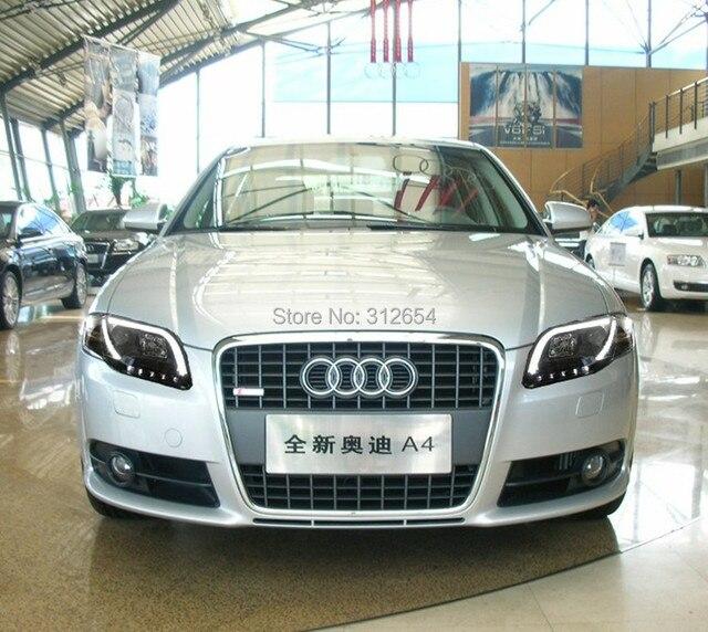 EMS Free Sonar Performance Up Grade Xenon Headlights For Audi A B - 2007 audi a4 headlights