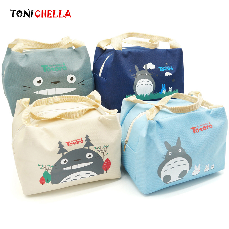 Baby Feeding Milk Bottle Thermal Bags Insulated Cute Cartoon Totoro Food Warmer Outdoor Travel Suit For Mummy Infant Bag CL5288 цена 2017