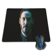 Babaite Gaming Mousepad Computer Laptop Mice Mat keanu reeves in john wick Custom Design Mouse Pads Computer Gaming Mousemats