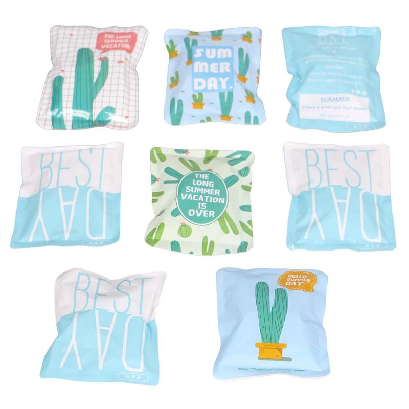 Summer Portable Mini Reusable Cooler Bag Outdoor Cooling Insulated Dry Cold Gel Ice Pack for Food Fresh