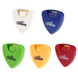 1 шт Гитара Alice держатель звукоснимателя случае посредника быстрого хранения чехол для хранения медиатора