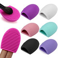 2016 Top 8 Colors Silicone Cleaning Brush Makeup Washing Brushes Gel Cleaner Scrubber Tool Foundation Cosmetic Cleans Tools 1Pcs