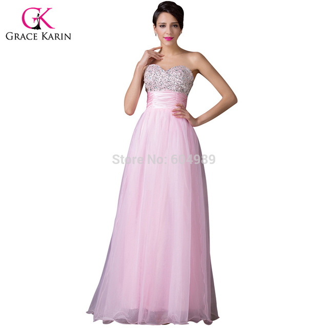 Grace Karin New Arrival Free Shipping Strapless Sweetheart Beaded ...