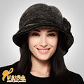 Autumn and winter Lady fashion hats warm Wool painter hat pumpkin  Wool Hat Beret cap  B-0717