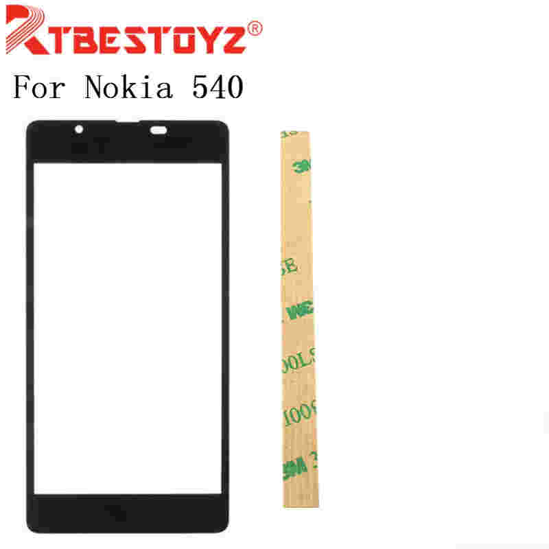RTBESTOYZ Front Outer <font><b>Screen</b></font> Glass Lens Panel For Nokia <font><b>Microsoft</b></font> <font><b>Lumia</b></font> <font><b>540</b></font> <font><b>Replacement</b></font> + Free Tools image