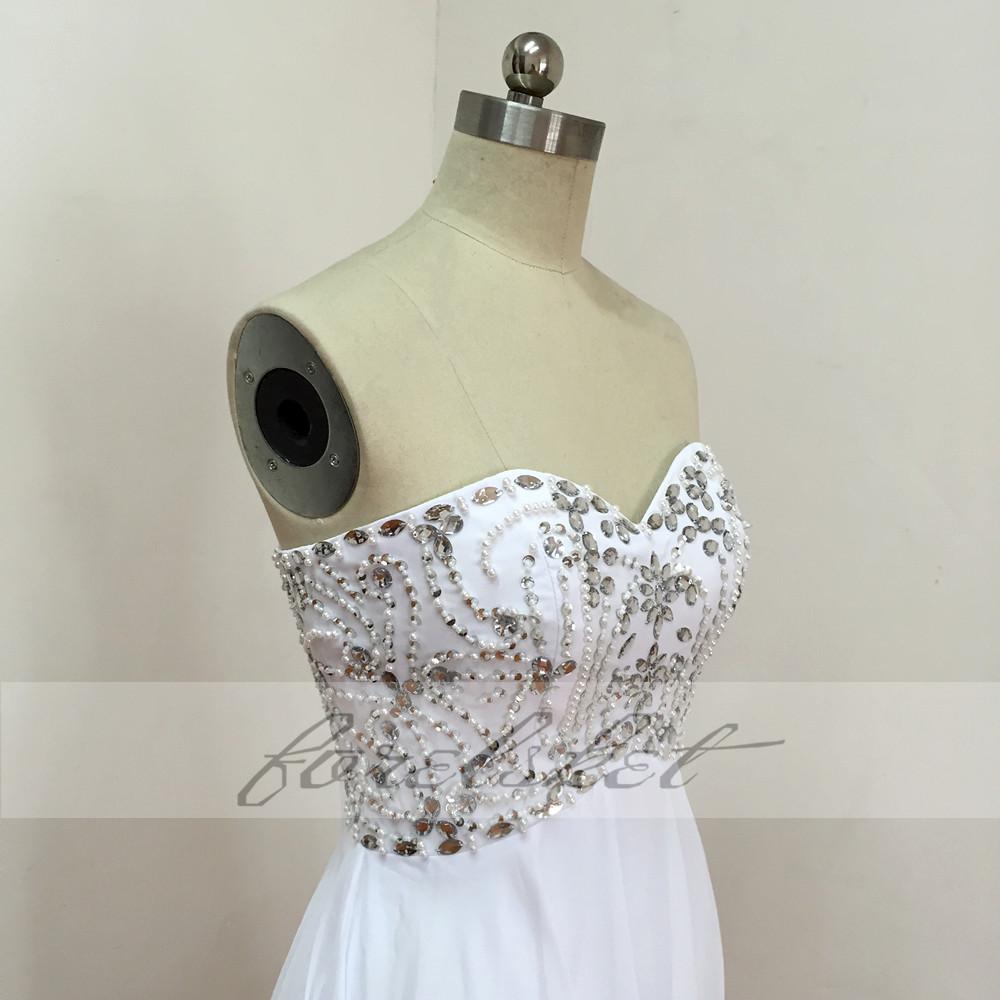Sexy Chiffon A Line Beach Wedding Dresses Vintage Boho Cheap Bridal Gowns Vestidos De Novia Robe De Mariage Bridal Gown in stock 27