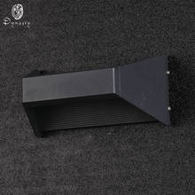 La dinastía de aluminio decorativo de pared LED las luces al aire libre de las luces IP65 lámpara de pared AC86-265V a prueba de agua jardín porche corredores Villas Patio(China)