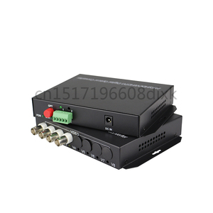 Image 4 - HD video AHD CVI TVI Fiber optical converter, 4 CH 720P 960P video fiber optic transmitter with reverse RS485 data
