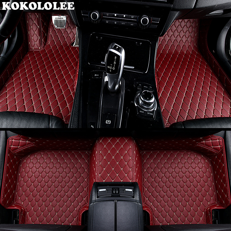 KOKOLOLEE Custom car floor mats for Honda All Models CRV XRV Odyssey Jazz City crosstour civic crider vezel fit Accord car-style fuzik keyless go smart key keyless entry push remote button start car alarm for honda accord odyssey crv civic jazz vezel xrv