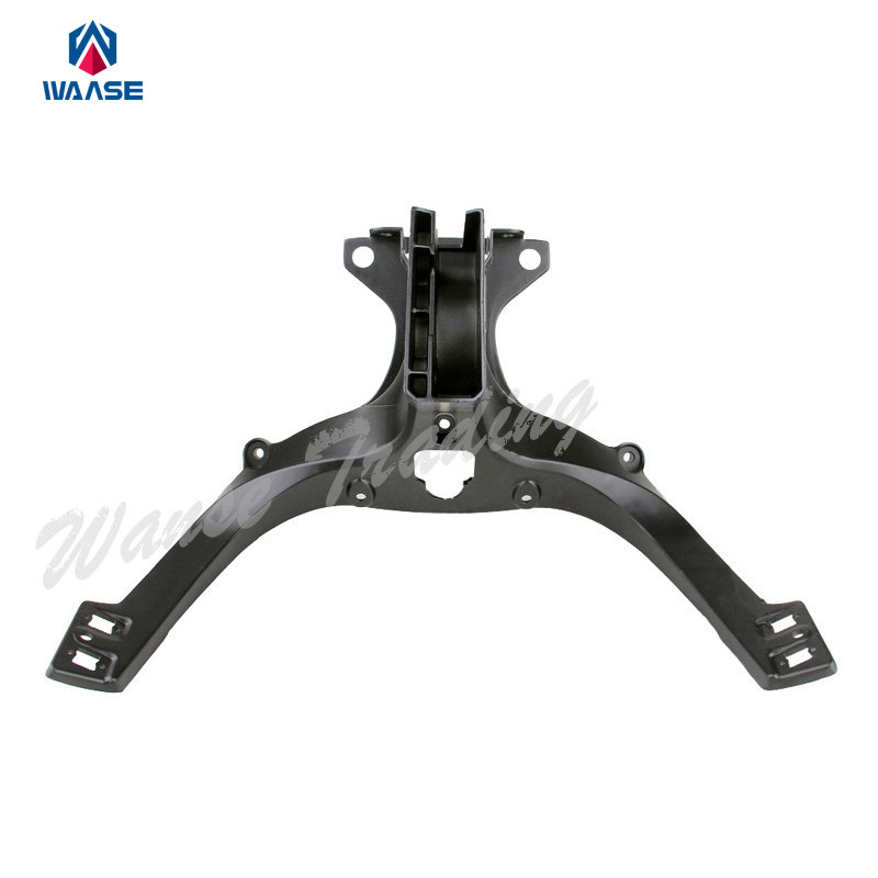 Front Headlight Headlamp Support Bracket Upper Head Fairing Cowling Stay Holder For 2007 2008 2009 DUCATI 1098 R S 1098R 1098S front headlight headlamp head light lamp upper stay bracket fairing cowling for honda cbr1000rr cbr 1000 rr 2004 2005 2006 2007