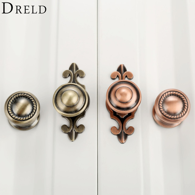 Superior DRELD Furniture Handles Vintage Cabinet Knobs And Handles Alloy Door Knob  Cupboard Drawer Kitchen Pull Handle
