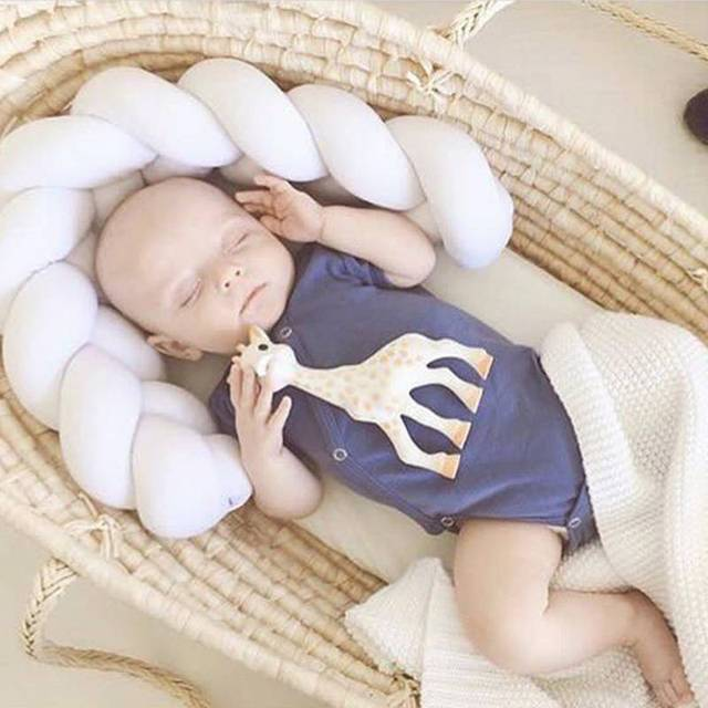 Newborn Baby Bed Safety Cushion