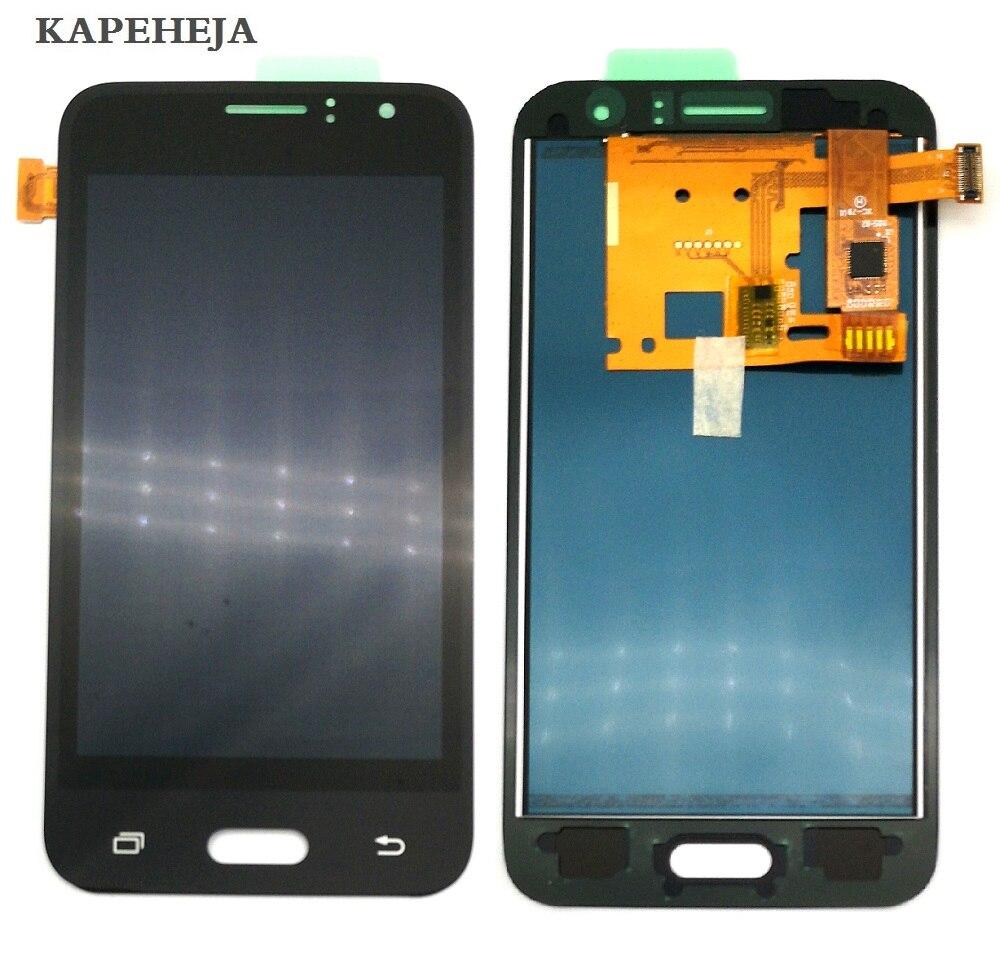 Pode ajustar o brilho do LCD Para Samsung Galaxy J1 2016 J120 J120F J120H J120M LCD Screen Display Toque Digitador Assembléia