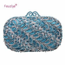 Fawziya Handmade Bag Handbags For  Women  Clutch Purse With Strap Evening Bag Crystal