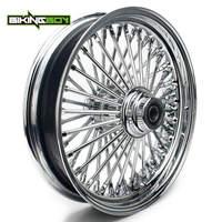 BIKINGBOY 3.5 X 16 Front Wheel Rim Hub for Harley Super Glide Low Rider FXDL FXDWG Electra Glide FLHT Fatboy FLSTC XLH Custom