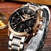 Relogio Masculino LIGE Men Watches Top Brand Luxury Fashion Business Quartz Watch Men Sport Full Steel
