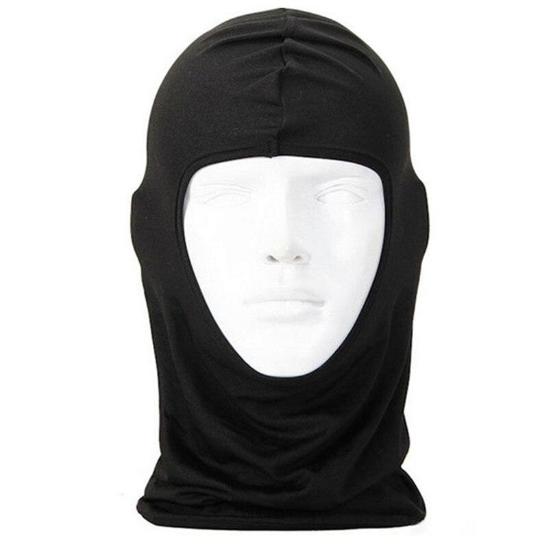New Classic Lycra Ski Face Mask Bike Bicycle CS Sports Football Mask Balaclava Headband headgear halloween face mask #2a (12)