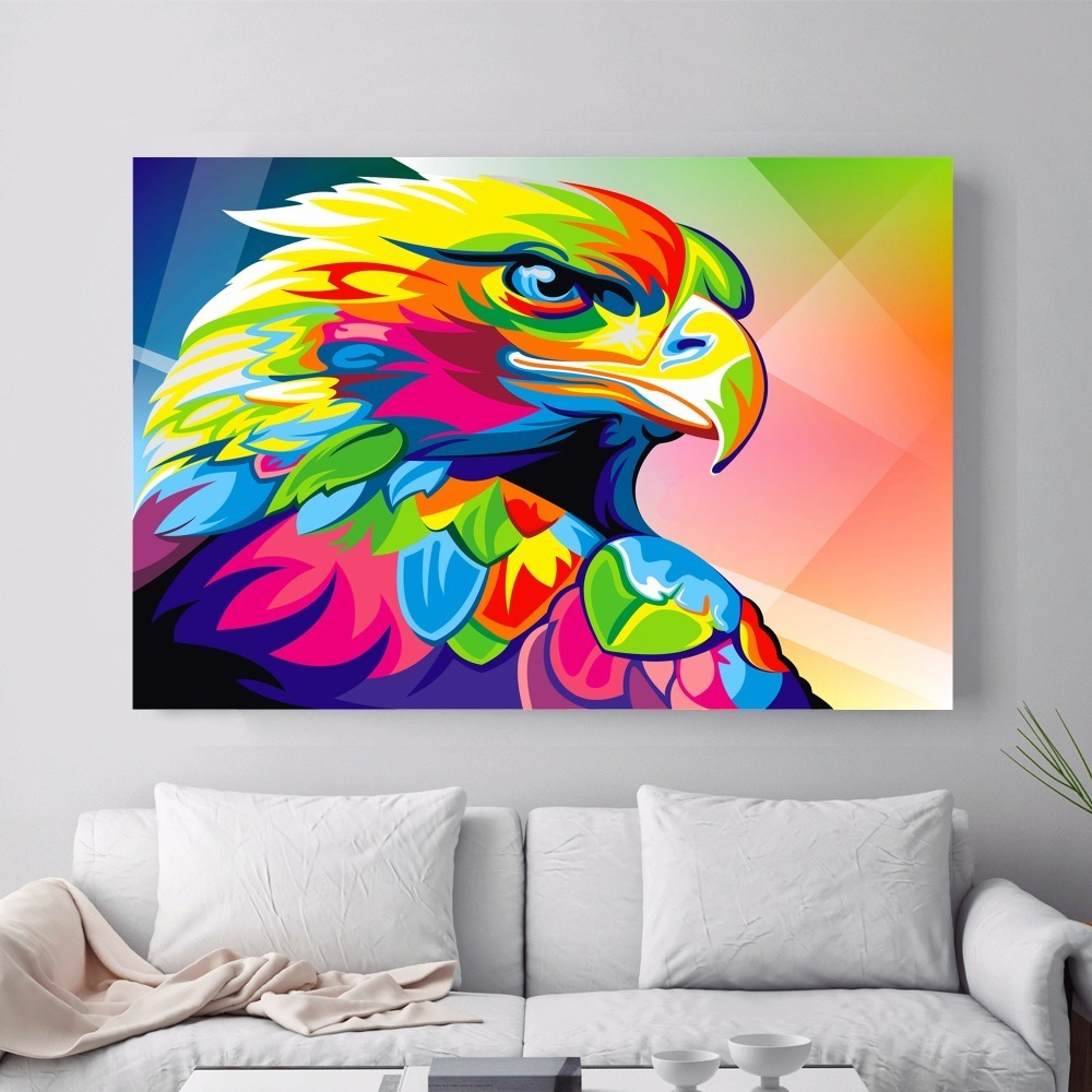 Bear Lion Eagle Modular Posters and Prints Wall art Decorative Picture Canvas Painting For Living Room Home Decor Unframed in Painting Calligraphy from Home Garden