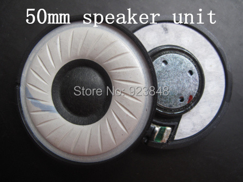 50MM unit speaker  Wearing a silk wool composite cone diaphragm unit  DIY headset accessories