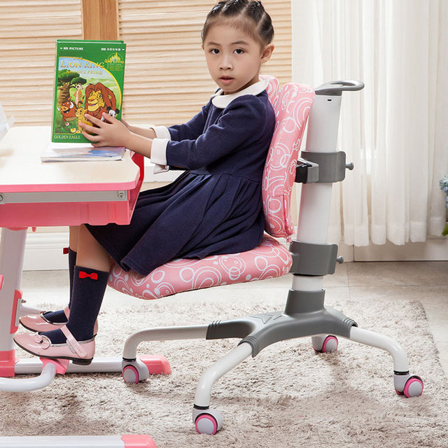 High quality children double backlearning chair correction sitting posture lift student chair