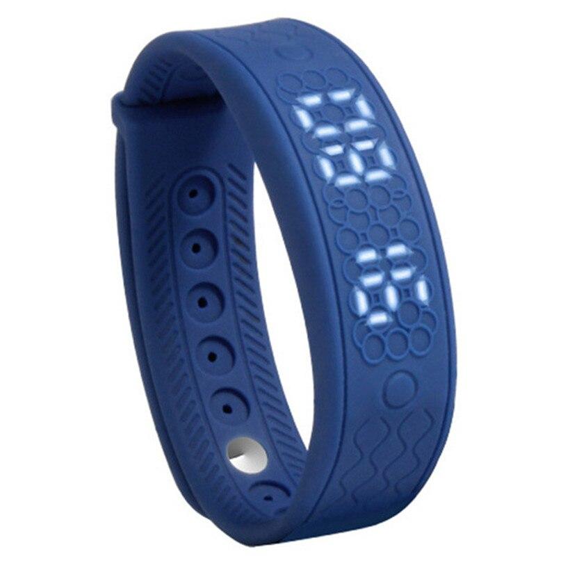 Advanced 2017 New H5S Smart Bracelet 3D Pedometer Sleep Tracker Heart rate Monitor Smart band Fitness