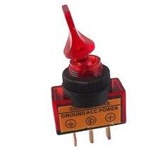 Soporte para EE. UU. 5 uds. Interruptor basculante de 12V 20A 3P colores de mango corto interruptor basculante LED ventas accesorios universales para coche