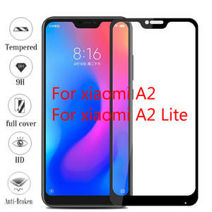 Protective-Film Screen-Protector Tempered-Glass Xiaomi Lite A1 for A2 Full-Coverage 3D