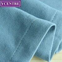 YCENTRE мягкие однотонные термальность изолированные окна шторы Современный стиль синий простыня панель-жалюзи для спальня/гостиная/Детская