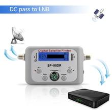 TV Alıcısı Dekoder Dijital Uydu Bulucu Sinyal Ölçer için Directv Çanak Ağ FTA Sinyal Pointer SF 95DR