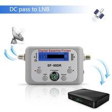 TV Receiver Decoder Digital Satellite Finder Signal Meter für Directv Dish Network FTA Signal Pointer SF 95DR