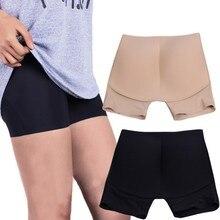 Women Abundant Buttocks Hip Pad Thickening Waist Boxer Briefs Ladies Underwear Fake Butt Pad Hip Underwear Panties