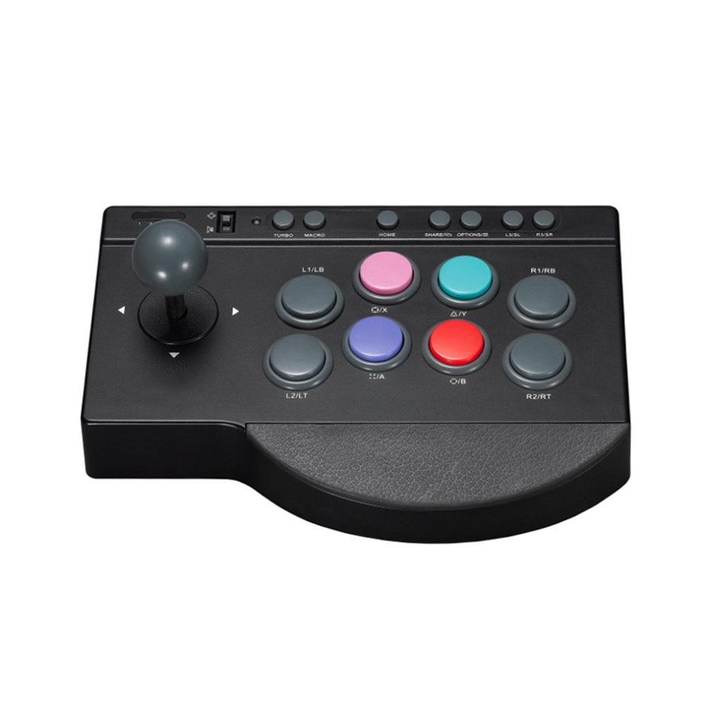 Contrôleur de jeu Joystick USB filaire fournitures de jeu Durable remplacement PC bâton pour Arcade combat ABS pour PS3/4 pour XBOX ONE