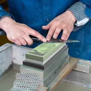 Image 3 - Pierre à aiguiser Pro, grains 1000 3000 6000 et 800, outil de cuisine, affûteur de couteaux, pierre à aiguiser, système daffûtage, pierre à eau