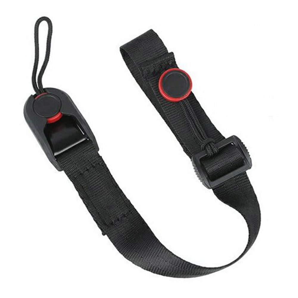 Lanyard Black Cuff Wrist Belt Adjustable Elastic Durable Camera Strap Accessories Quick Release Universal For GoPro Hero 4/3+