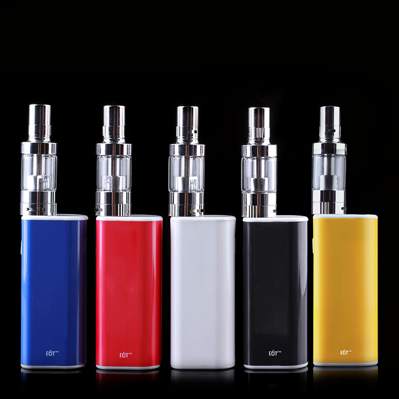 Original ECT eT 30p Kit with 2200mah Battery Box Mod 30W Vaporizer Mini Fog Atomizer ET30P