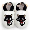 Zapatos de bebé lindos animales para las muchachas de los muchachos de bebé de cuero suave calzado infantil zapatos infantiles Kids Shoes zapatilla 0-4y