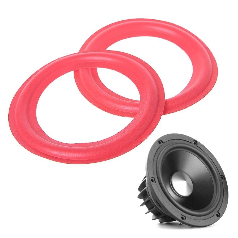 """10pcs 5/"""" inch Speaker Foam Edge Speaker Surround HiFi Audio Repair Parts"""