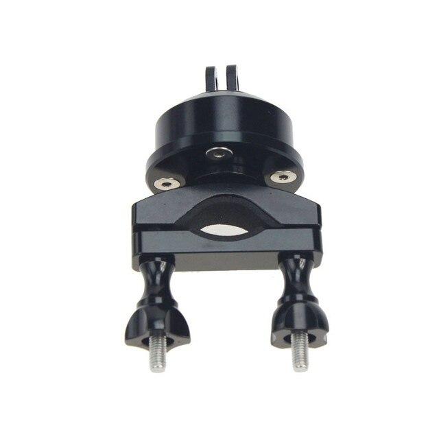 ヘルメット360スイベル回転バーマウント用Gopro5 4 3 + xiaomi yi sjcamサイクリングスカイダイビングSkiing22-32MM selfshotアーム