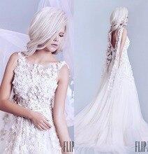 Elegantes backless weiße Abendkleid 2017 maß wulstiger abendkleid tüll bodenlangen A-linie formale kleid vestido de festa