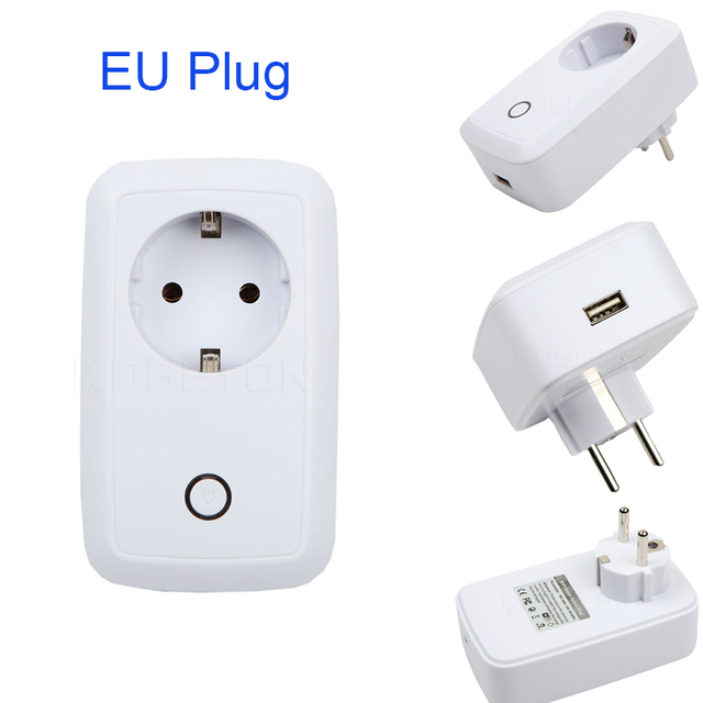 kebidumei High quality 110V 220V Wifi Smart Plug Power Socket USB ...