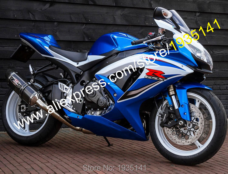 For Suzuki <font><b>GSXR</b></font> <font><b>600</b></font> <font><b>K8</b></font> <font><b>GSXR</b></font> 750 08-10 GSX-R <font><b>600</b></font> 750 <font><b>2008</b></font> 2009 2010 Aftermarket Motorcycle Fairing (Injection molding) image